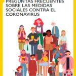 Preguntas frecuentes sobre as medidas sociais contra o coronavirus